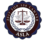 Top 100 Lawyer, American Society of Legal Advocates